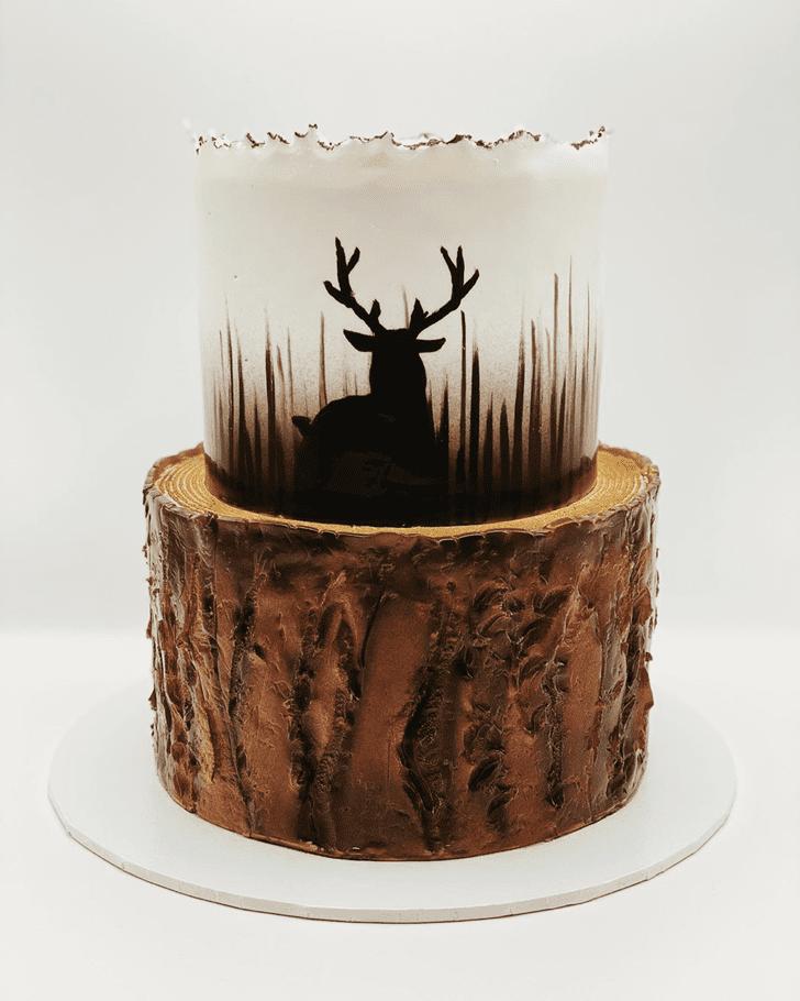 Angelic Deer Cake