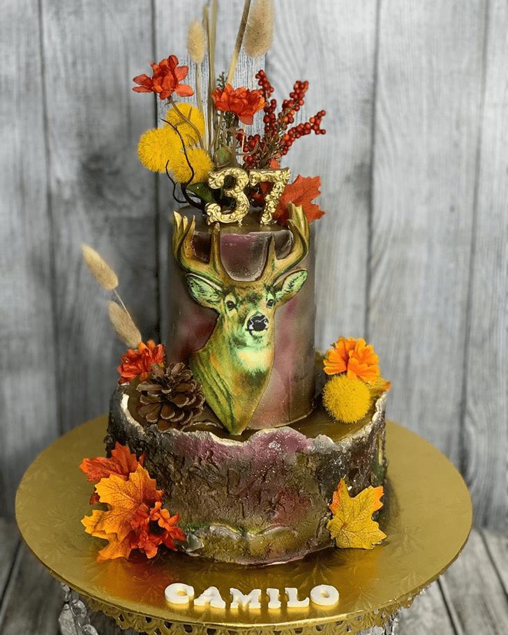 Captivating Deer Cake