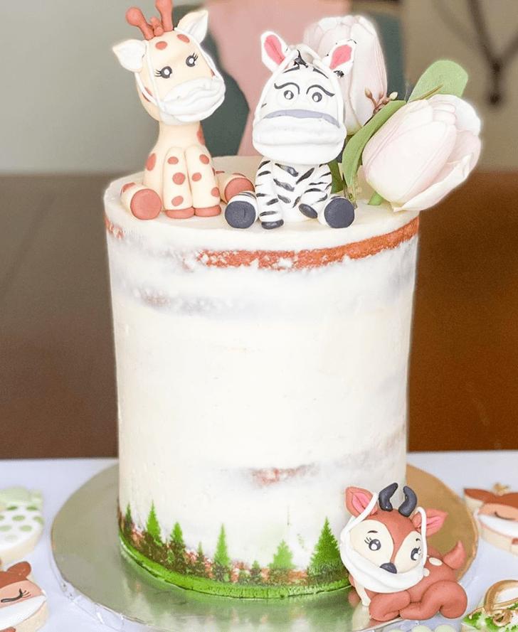 Comely Deer Cake