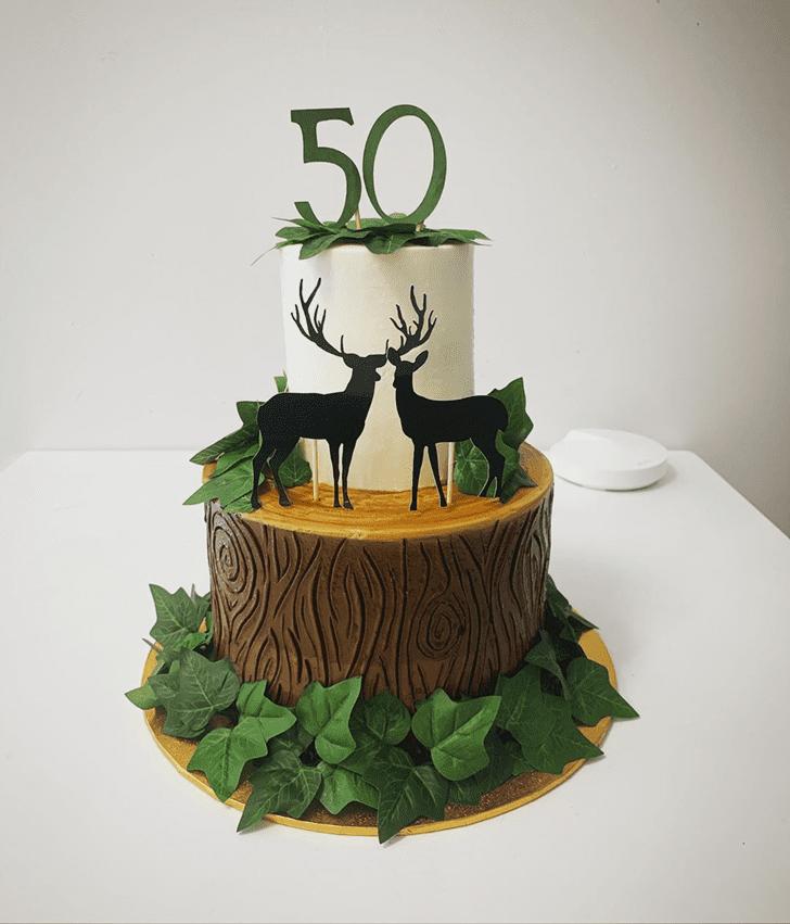 Delightful Deer Cake