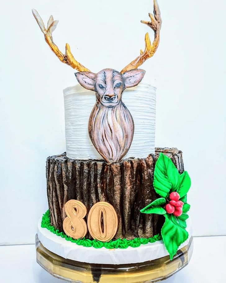 Enthralling Deer Cake