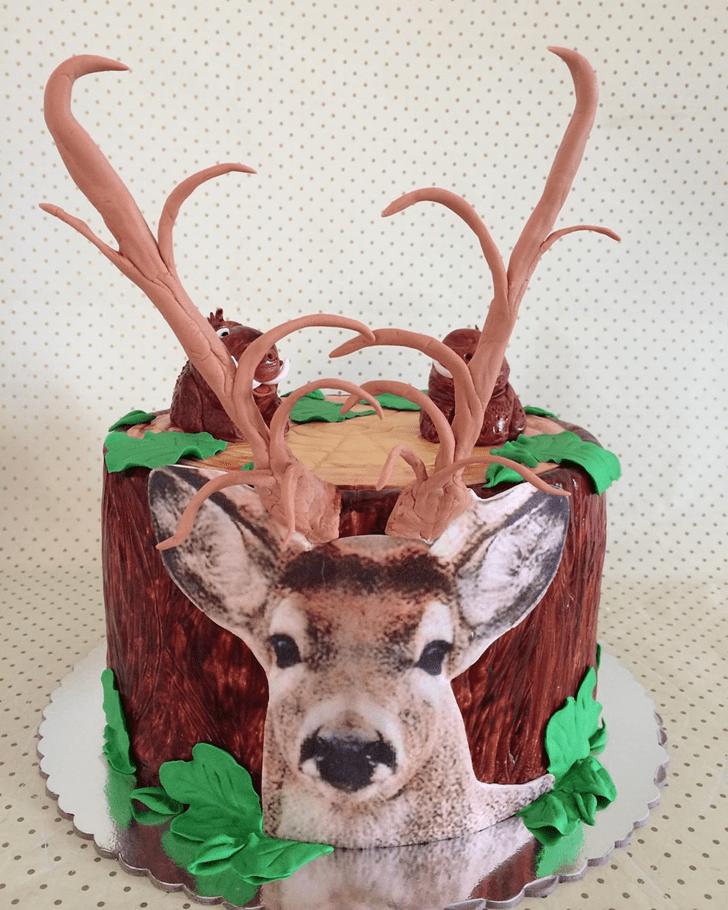 Enticing Deer Cake