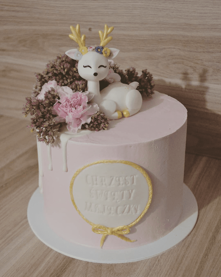 Exquisite Deer Cake