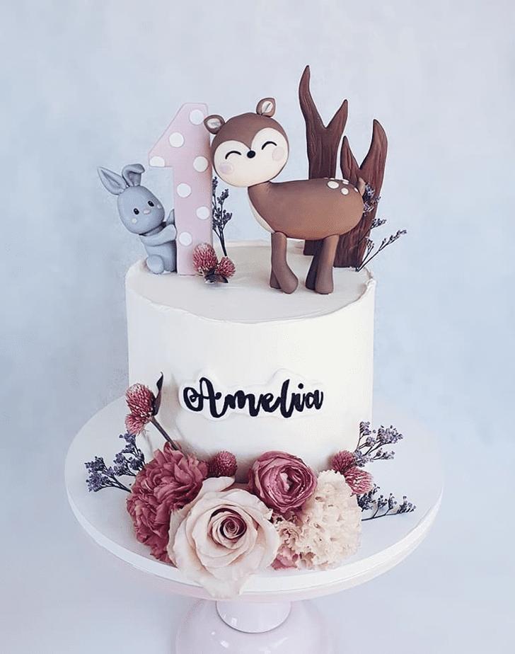 Gorgeous Deer Cake