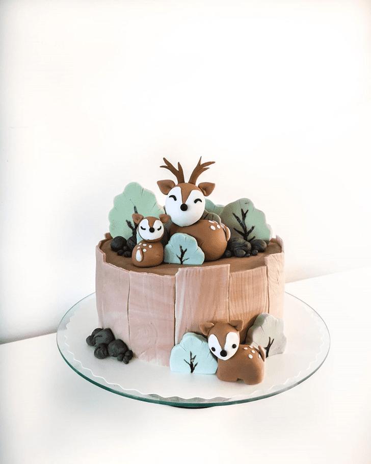 Graceful Deer Cake