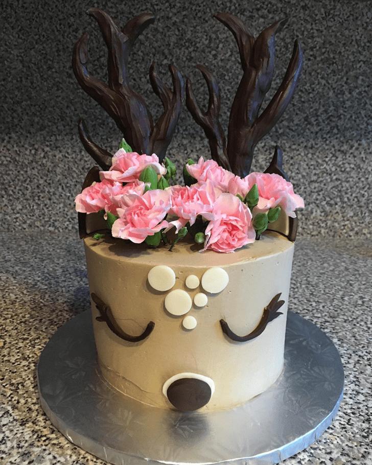 Handsome Deer Cake