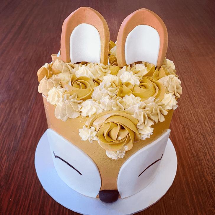 Inviting Deer Cake