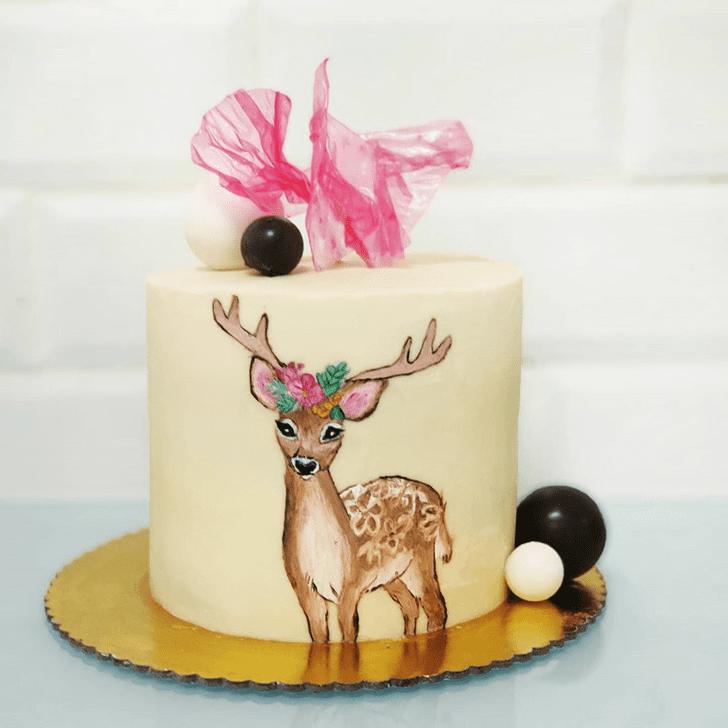 Marvelous Deer Cake