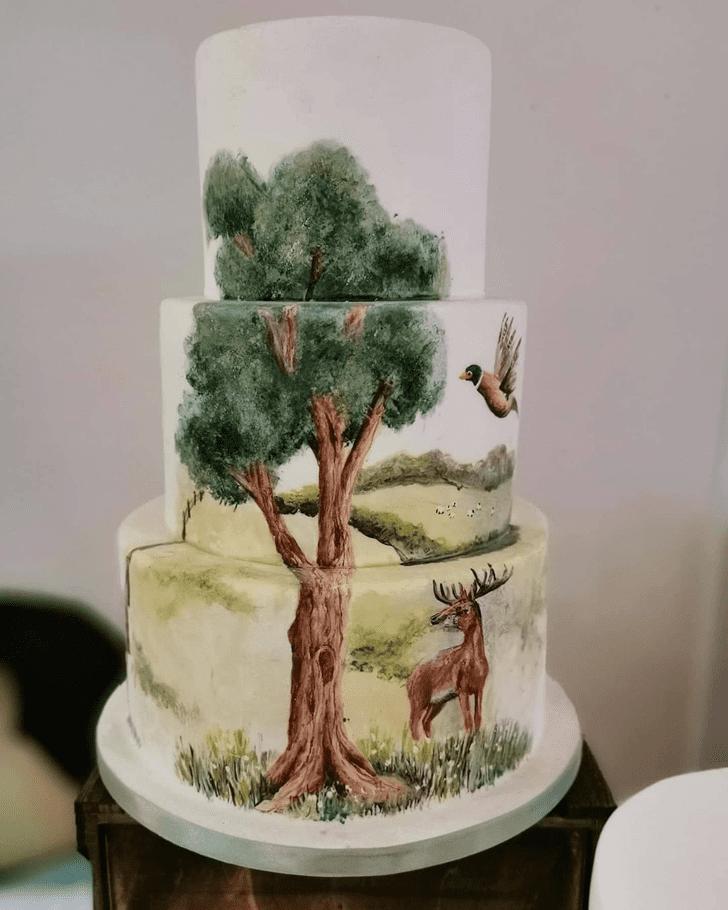 Nice Deer Cake