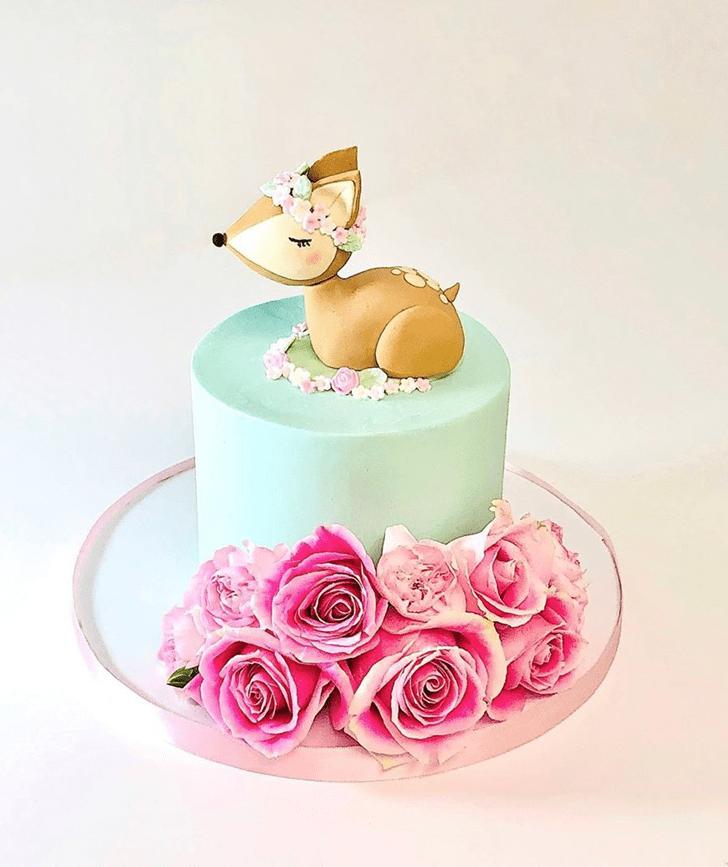Pretty Deer Cake