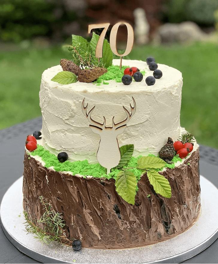 Resplendent Deer Cake