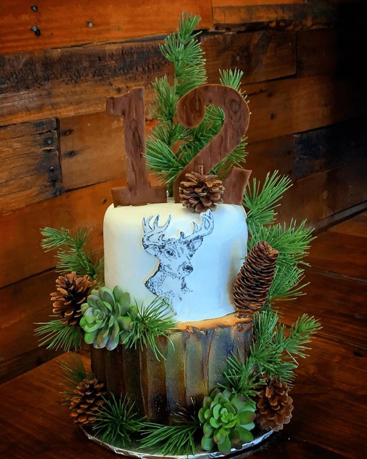 Slightly Deer Cake