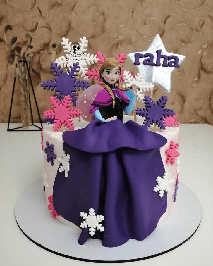 Adorable Disneys Anna Cake
