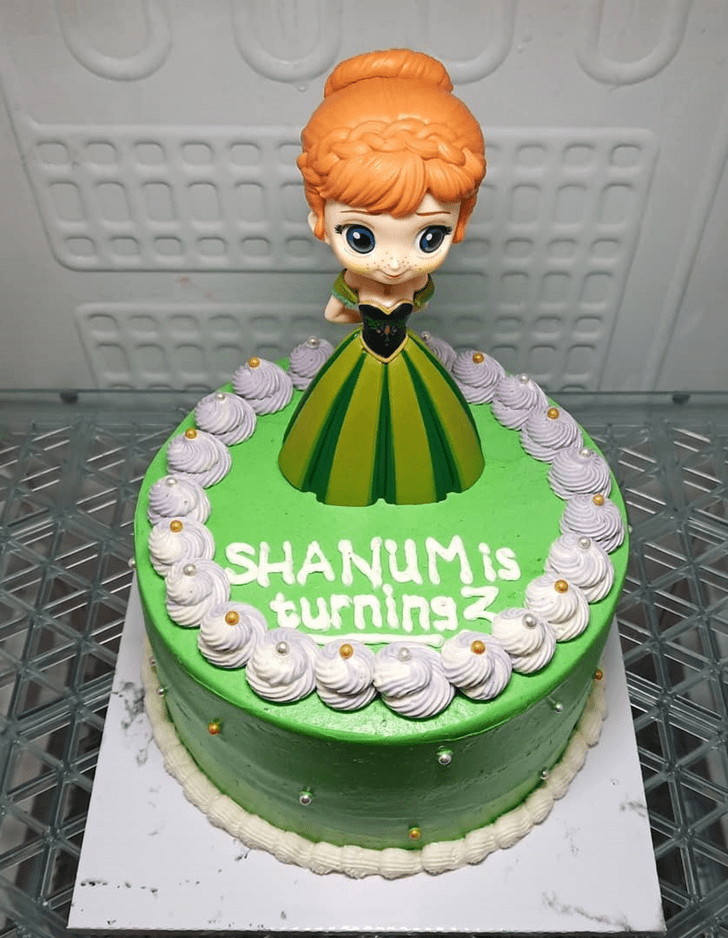 Delightful Disneys Anna Cake