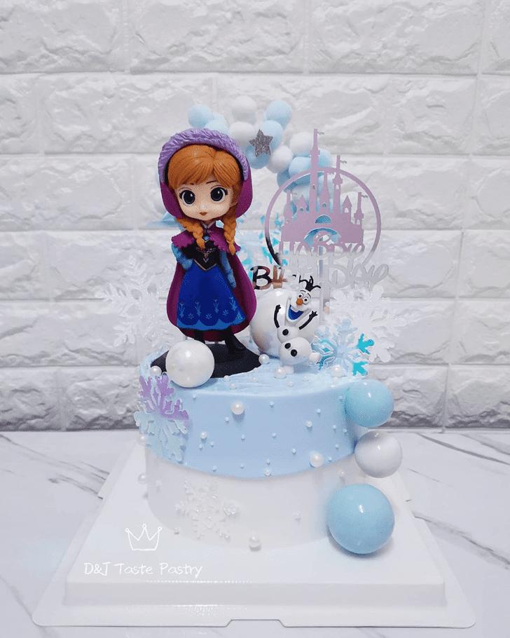 Divine Disneys Anna Cake