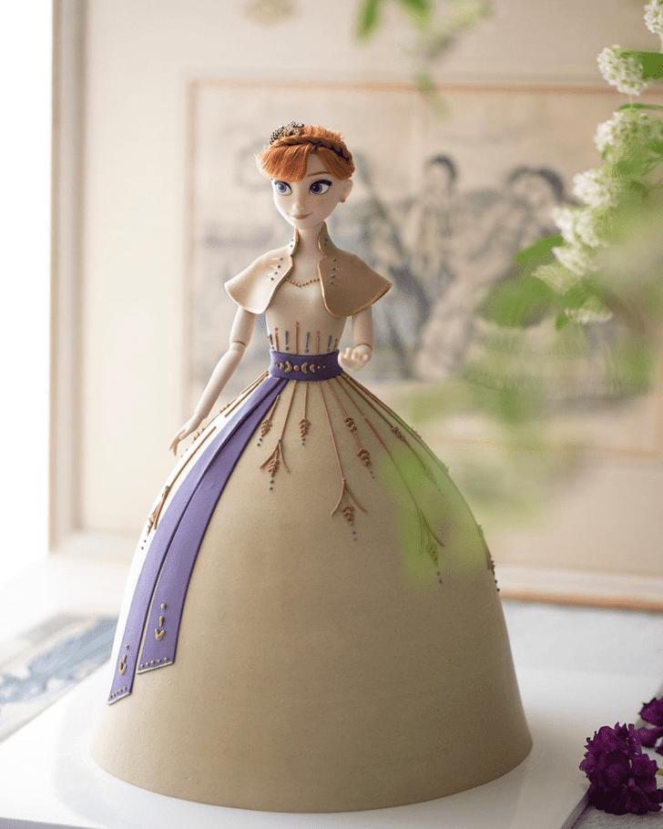Grand Disneys Anna Cake