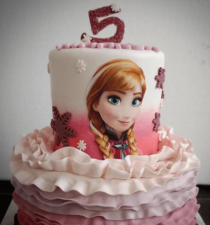Mesmeric Disneys Anna Cake