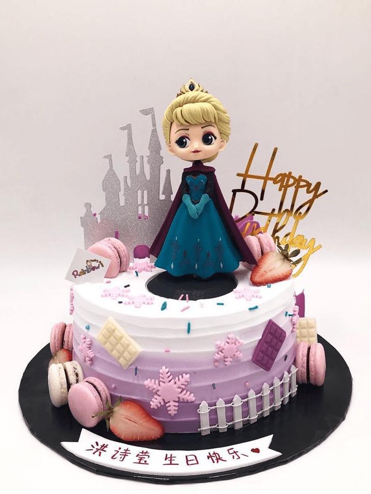 Pretty Disneys Anna Cake