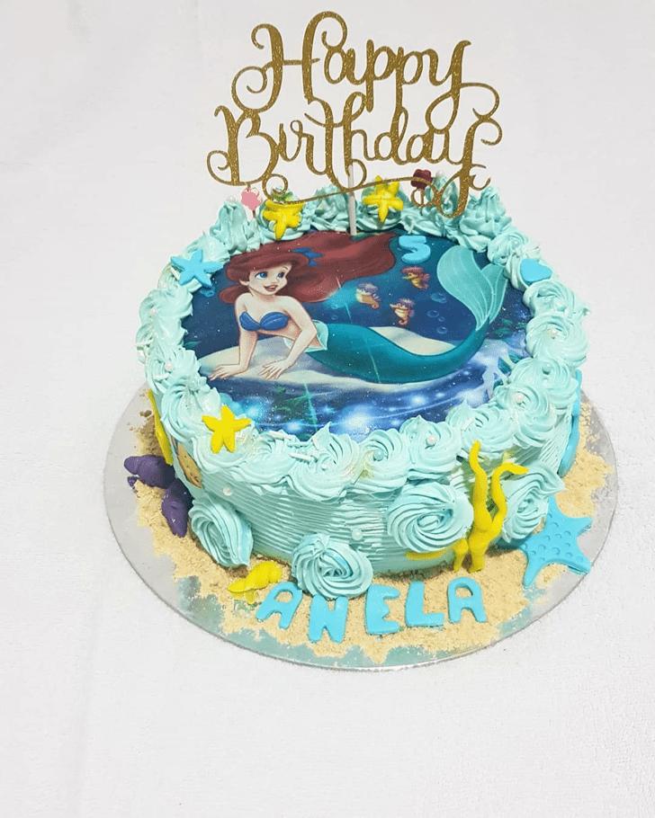 Enthralling Disneys Ariel Cake