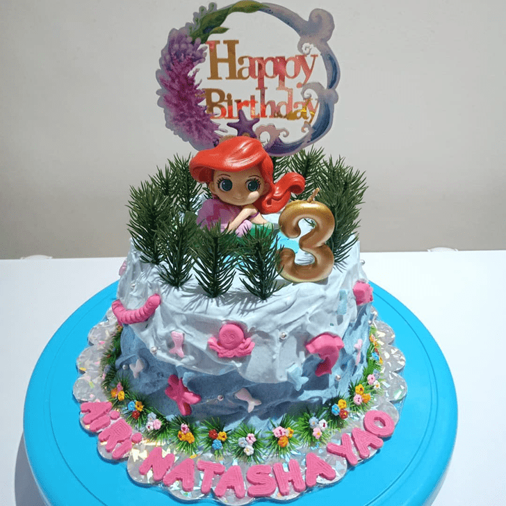 Excellent Disneys Ariel Cake