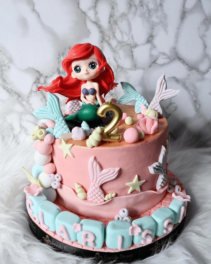 Fair Disneys Ariel Cake