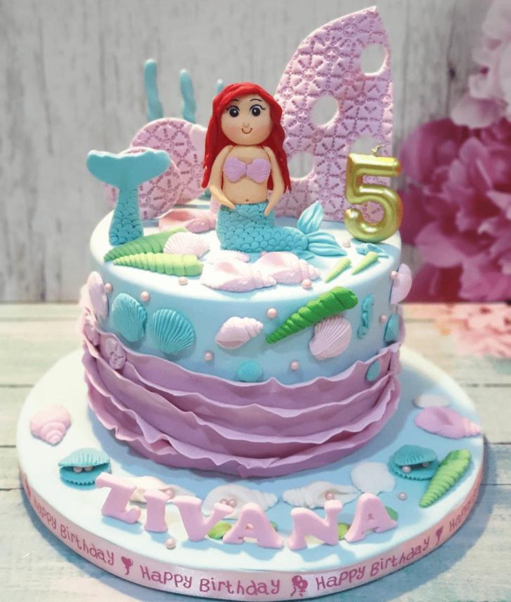 Fascinating Disneys Ariel Cake