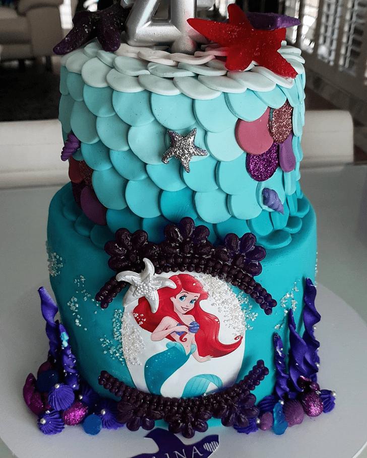 Good Looking Disneys Ariel Cake