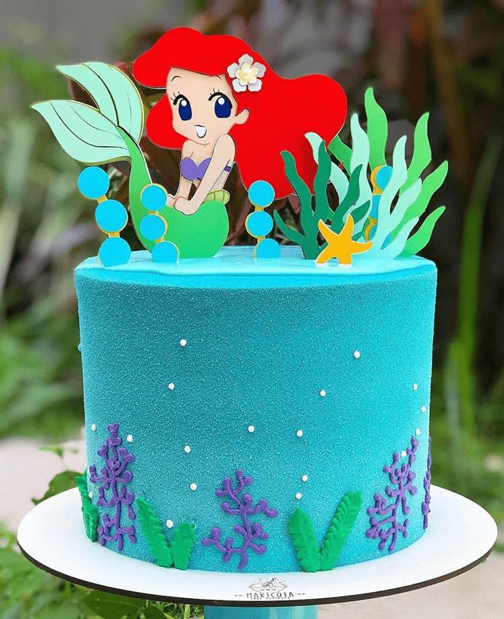 Gorgeous Disneys Ariel Cake