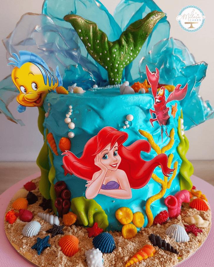 Grand Disneys Ariel Cake