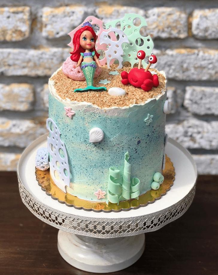 Magnificent Disneys Ariel Cake