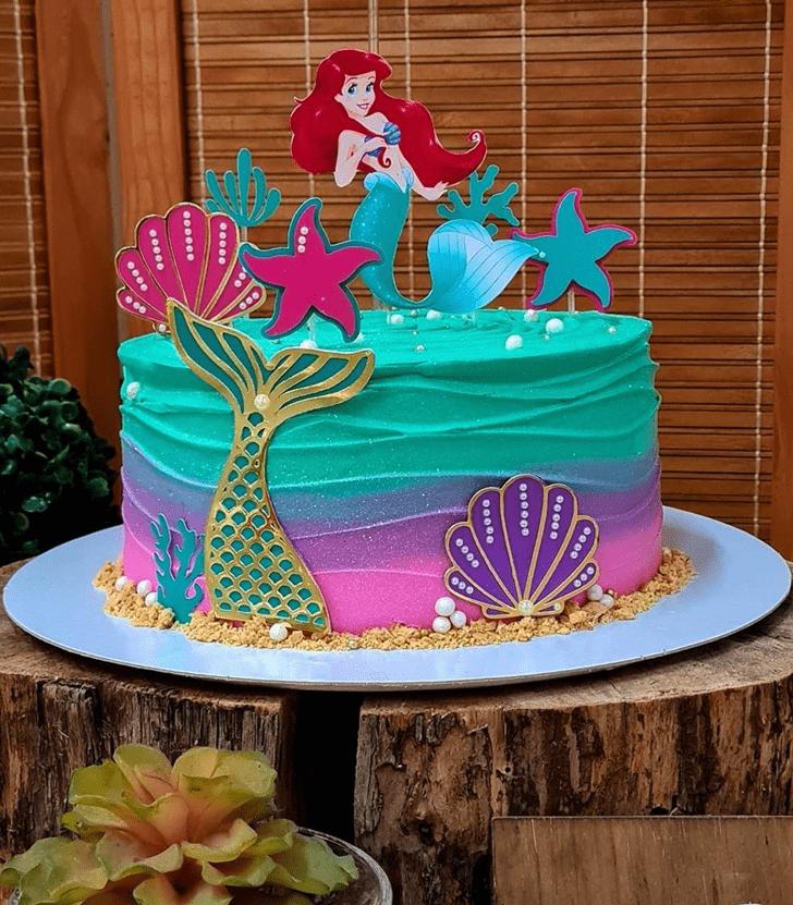 Ravishing Disneys Ariel Cake