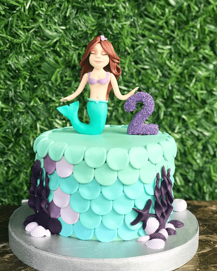 Superb Disneys Ariel Cake