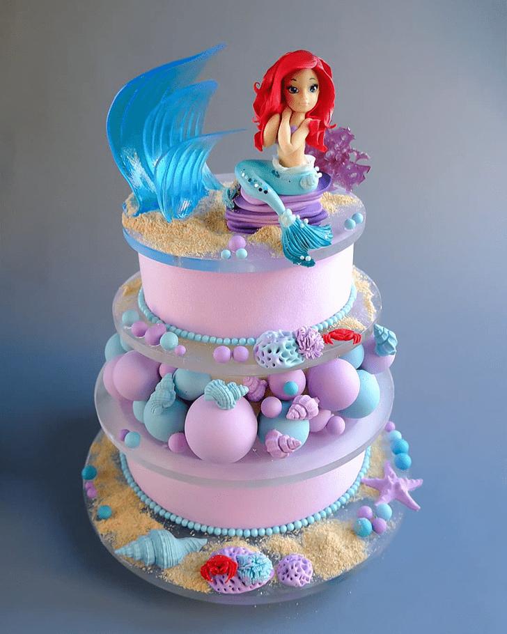 Wonderful Disneys Ariel Cake Design