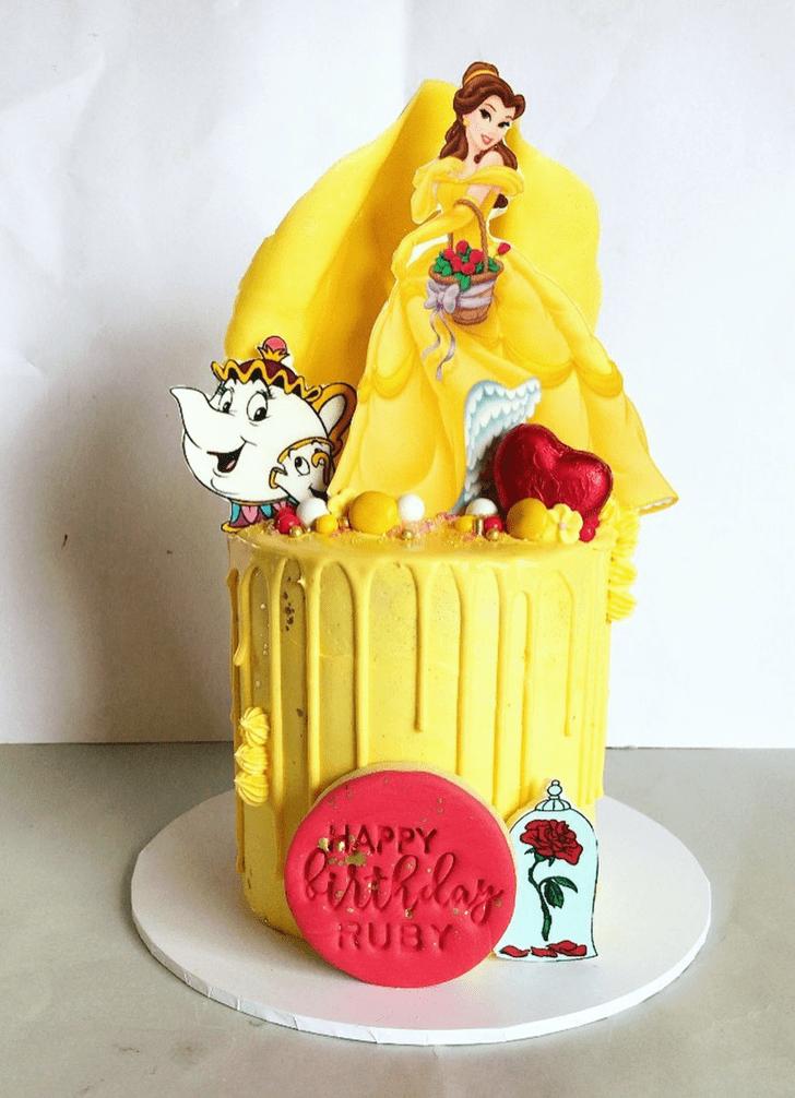 Adorable Disneys Belle Cake