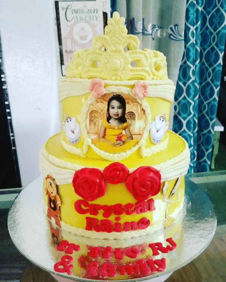 Charming Disneys Belle Cake