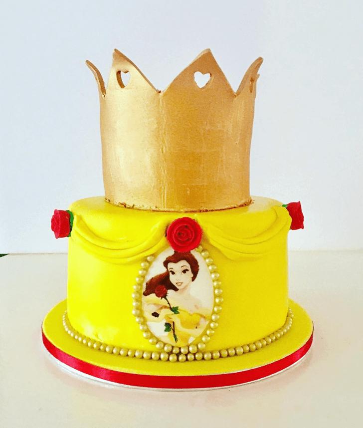 Delightful Disneys Belle Cake