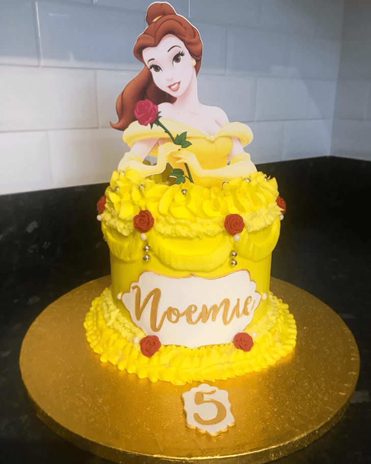 Divine Disneys Belle Cake