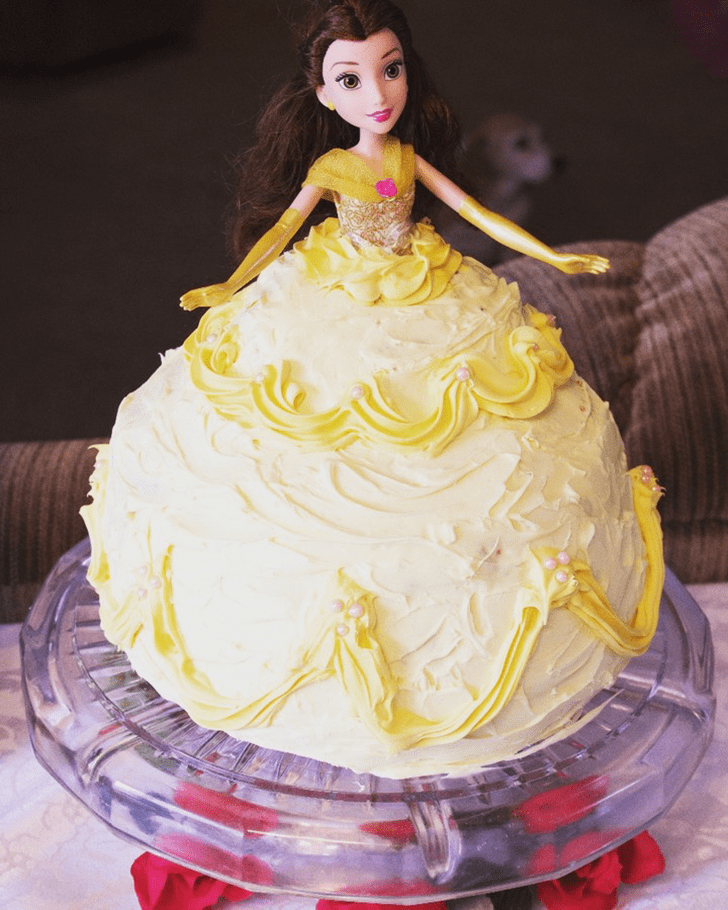 Fair Disneys Belle Cake