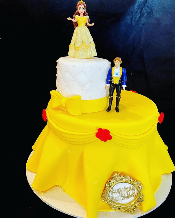 Fascinating Disneys Belle Cake