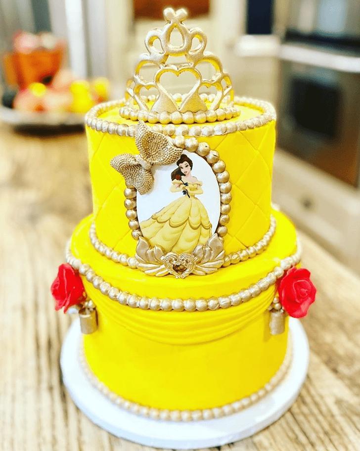 Good Looking Disneys Belle Cake