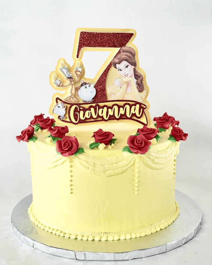 Gorgeous Disneys Belle Cake