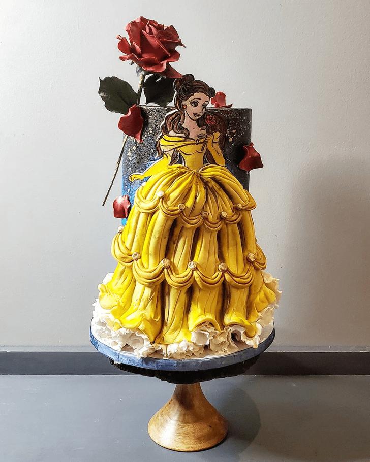 Marvelous Disneys Belle Cake