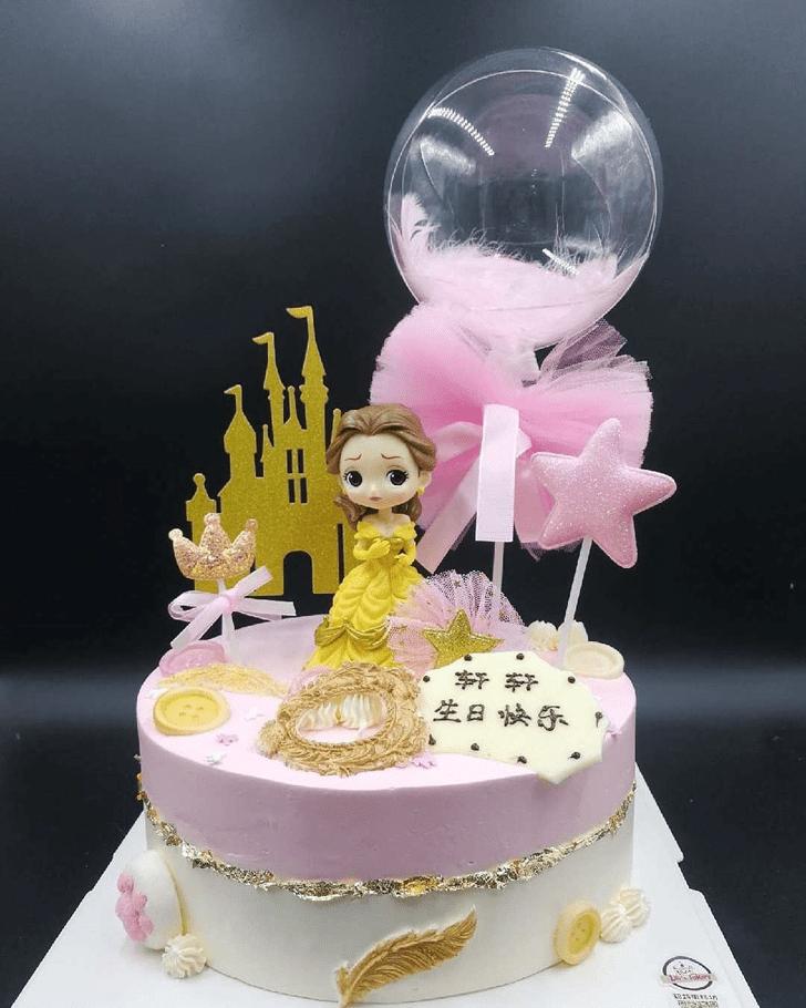 Pleasing Disneys Belle Cake