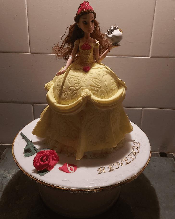 Resplendent Disneys Belle Cake