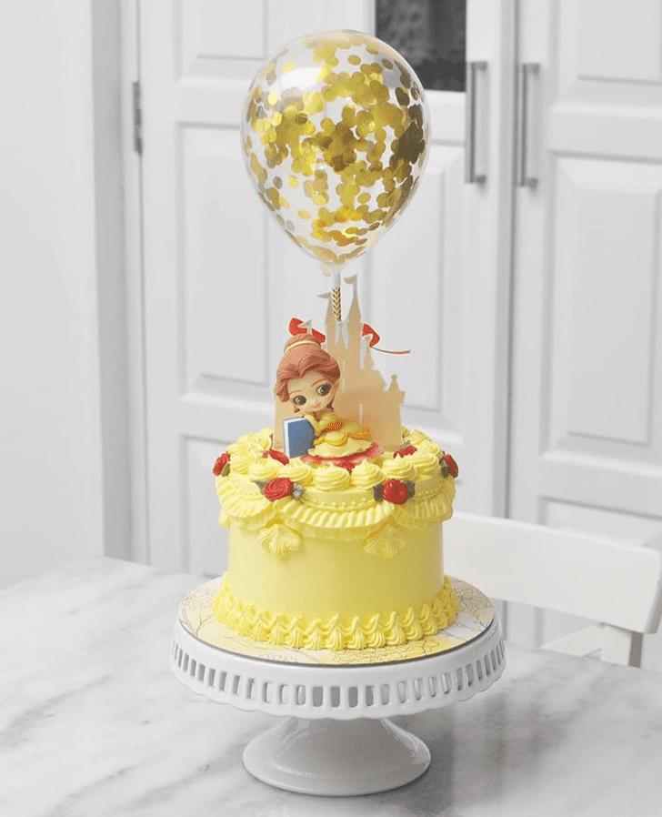 Shapely Disneys Belle Cake