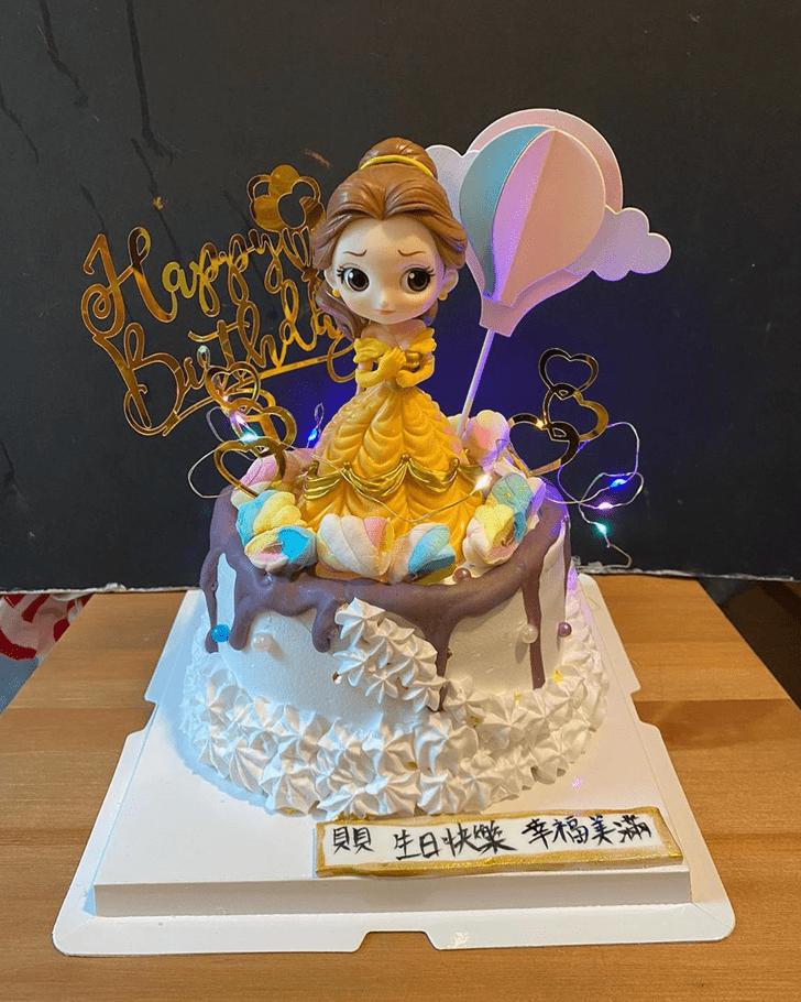 Superb Disneys Belle Cake