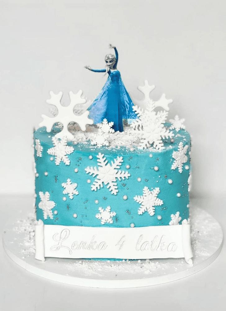 Angelic Disneys Elsa Cake