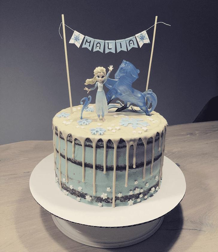 Appealing Disneys Elsa Cake