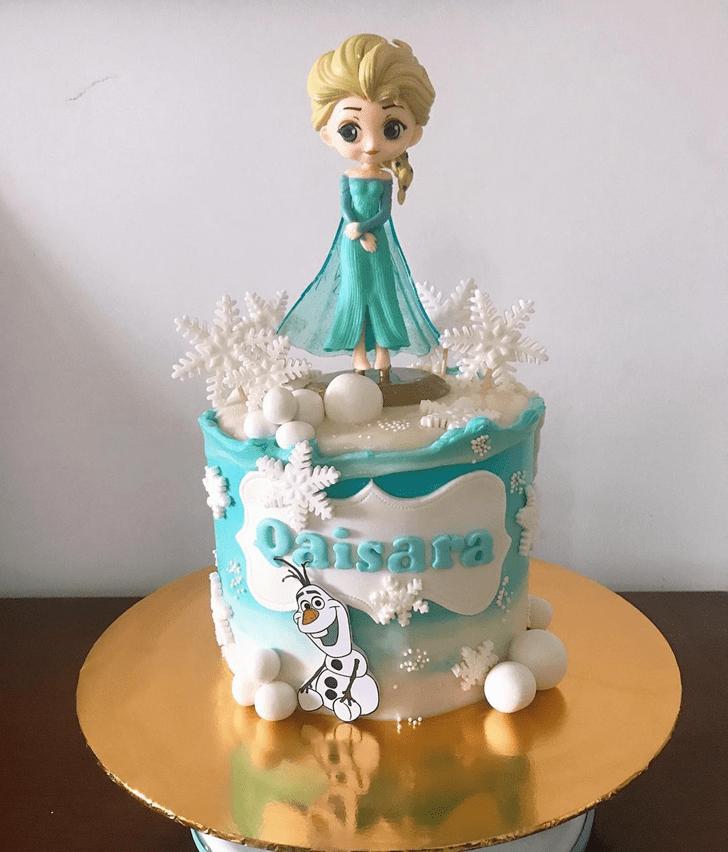 Magnetic Disneys Elsa Cake