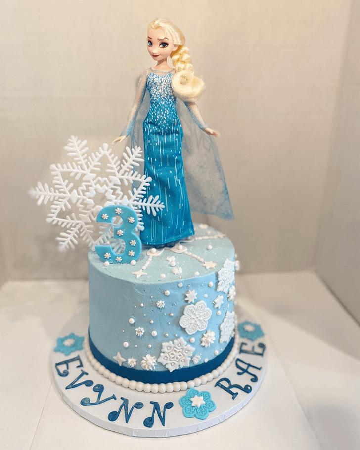 Ravishing Disneys Elsa Cake